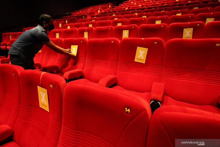 Persiapan Bioskop Dibuka Kembali