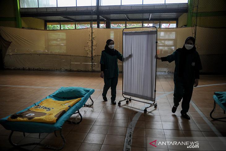 Shelter COVID-19 tidak ada pasien