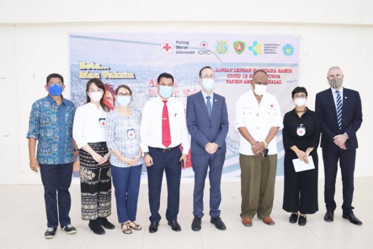 PMI Maluku - ICRC gencar vaksinasi massal dukung kekebalan komunal begini penjelasannya
