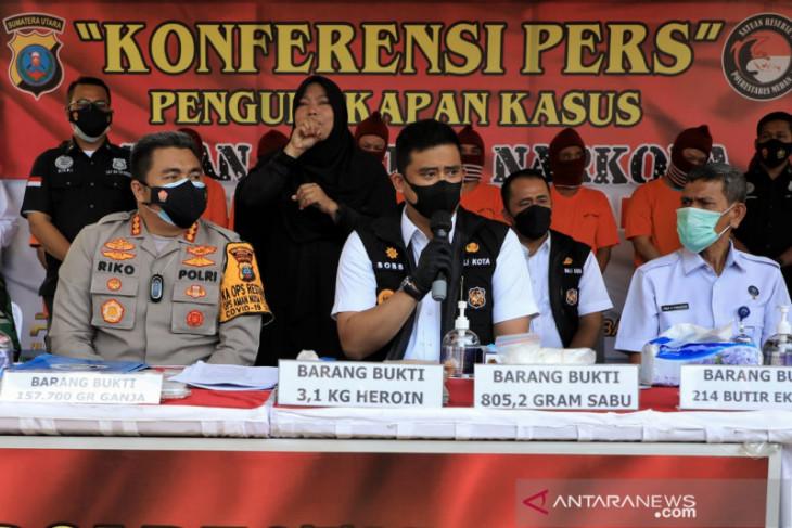 Pemkot Medan upayakan tempat rehabilitasi narkoba