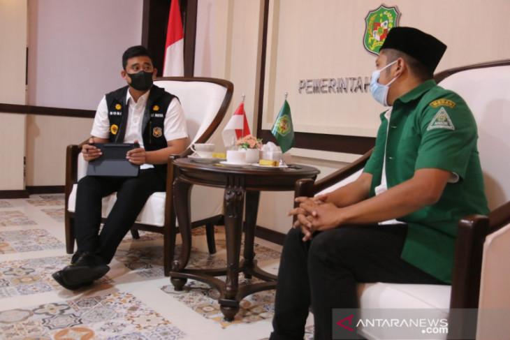 Pemkot Medan ajak GP Ansor dukung  program masjid mandiri