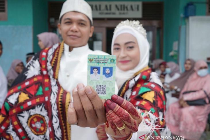 27.910 pasangan nikah di Aceh sepanjang 2021
