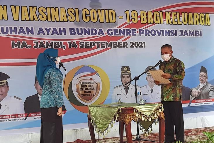 Deputi KS/PK BKKBN kukuhkan Hesti Haris sebagai Bunda GenRe Provinsi Jambi