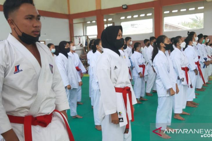 FORKI Gorontalo gelar turnamen terbuka karate 2021