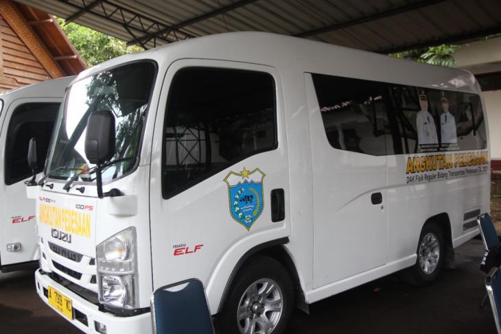Pemkab Pandeglang bantu kendaraan operasional BUMDes