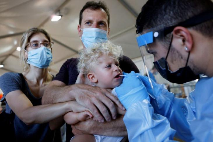 Ribuan anak Israel alami gejala