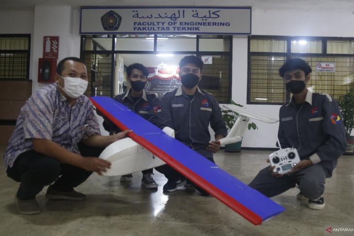 Tim Robotika UMM siap menerbangkan pesawatnya pada ajang UAV di Turki