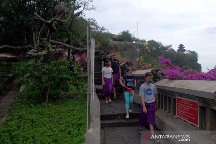 Pengelola DTW Uluwatu lakukan uji coba pembukaan objek wisata
