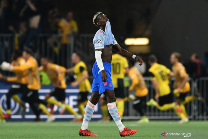 Liga Champions, Manchester United tersungkur di kandang Young Boys 1-2