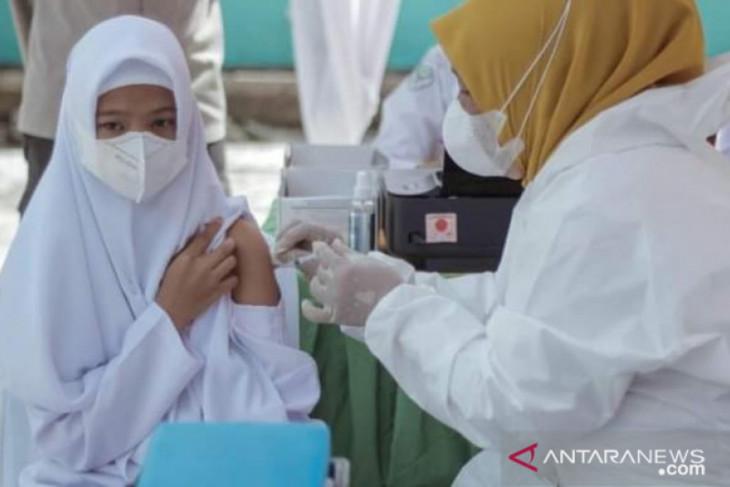 24.464 pelajar se Kota Padangsidimpuan segera  dapat vaksin