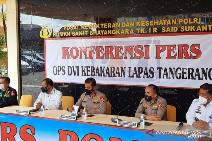 14 jenazah korban kebakaran di Lapas Tangerang berhasil diidentifikasi