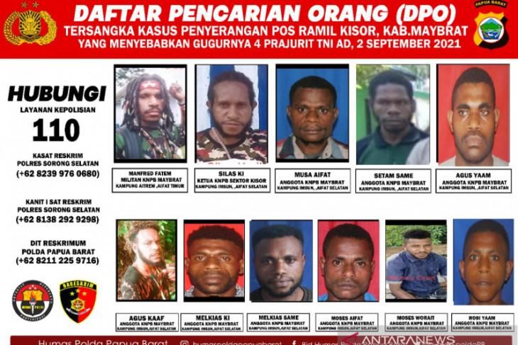Kapolda perintah foto DPO KNPB Maybrat serang Posmil Kisor disebar luaskan