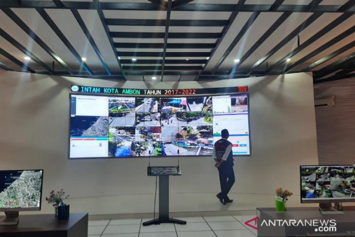 Command center Ambon pantau aktifitas masyarakat optimalkan kinerja