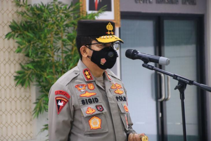 Kapolda Kalbar rotasi sejumlah perwira menengah dan perwira pertama
