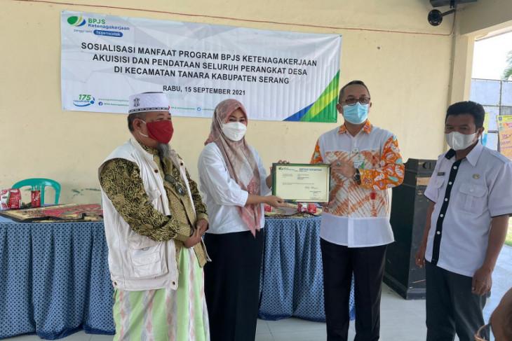 Roadshow hari ketiga, tiga camat di Kabupaten Serang mengapresiasi program BPJS Ketenagakerjaan