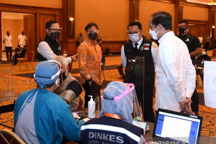 Pemkot Bogor optimistis vaksinasi COVID-19 dosis pertama capai 100 persen akhir September