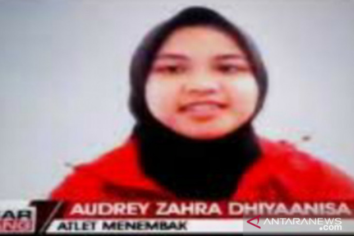 Atlet menembak Audrey Zahra targetkan raih emas pada PON Papua