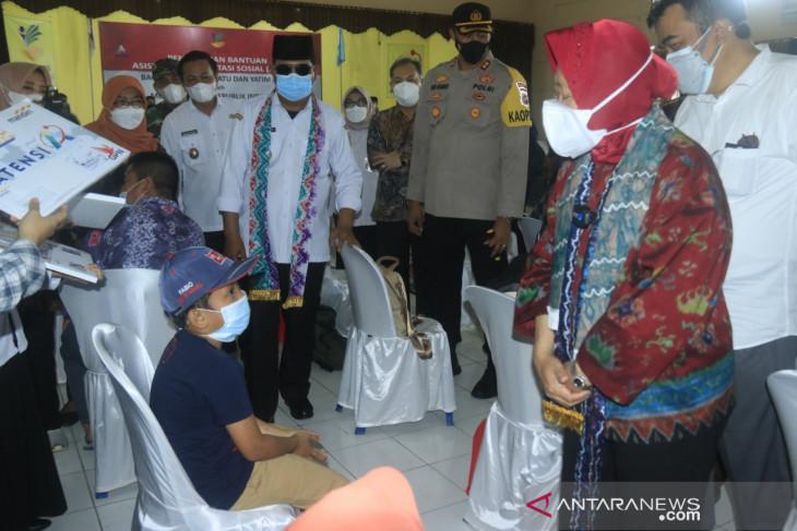 Mensos kunjungi Balai Budi Luhur Banjarbaru serahkan bantuan