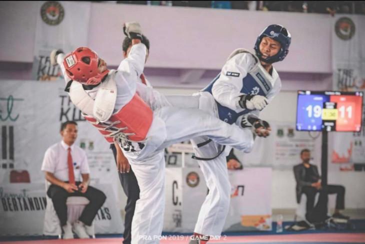 Adam Yazid atlet taekwondo Depok siap sumbangkan emas bagi Jabar di PON Papua