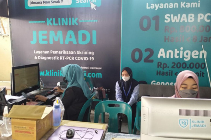 Tes PCR di Klinik Jemadi Medan Rp475 ribu, hasil keluar dalam 5 jam!
