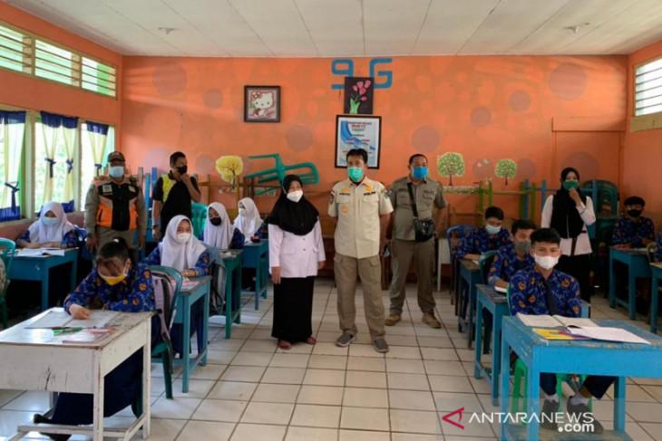 Rejang Lebong pantau penerapan protokol kesehatan di sekolah