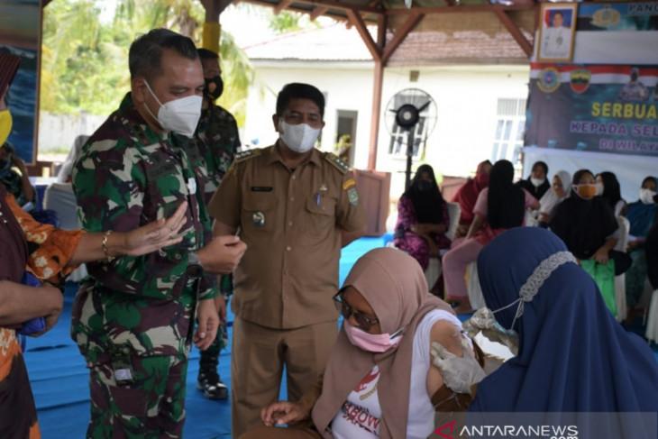 Lanal Tanjung Balai Asahan gelar 1.000 vaksinasi COVID-19