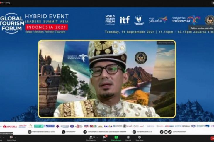 15-16 September, Sandiaga harap Global Tourism Forum bangkitkan sektor MICE Indonesia