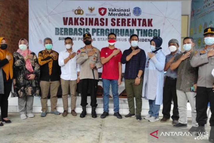 Stafsus Presiden gelar vaksinasi COVID-19 di Universita Bangka Belitung