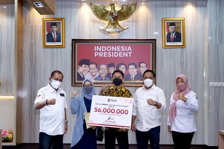 112 UMKM Tenggilis Mejoyo Kota Surabaya dapat bantuan modal Rp57 juta