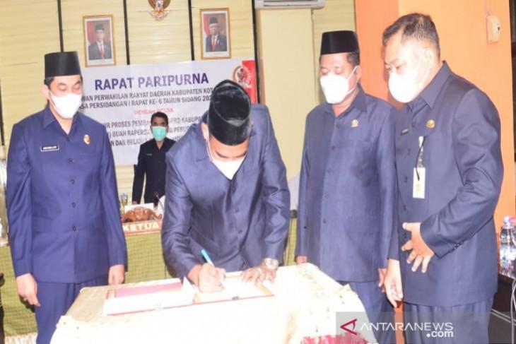 DPRD apresiasi naiknya PAD Kotabaru 6,03 persen