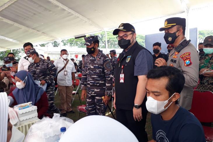Koarmada II siapkan 35 ribu dosis vaksinasi COVID-19 di Kabupaten Kediri