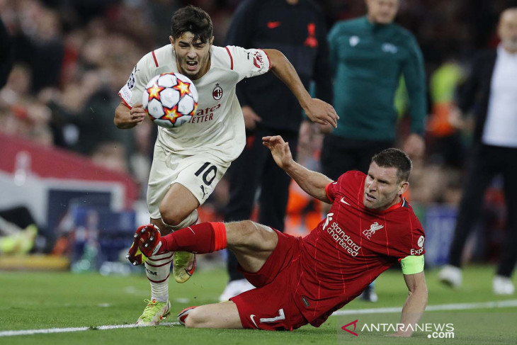 Liga Champions: Brahim Diaz yakin laga kontra Liverpool buktikan AC Milan mampu bersaing