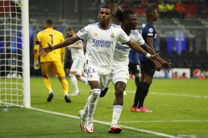 Gol Rodrygo Goes bawa Real Madrid menang atas Inter Milan