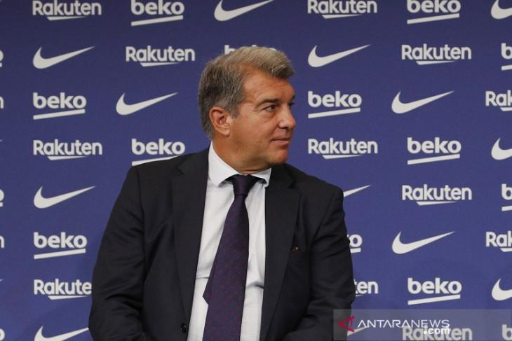 Liga Champions: Barca digulung Bayern, Joan Laporta minta suporter bersabar