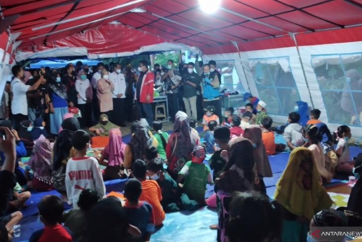 Mensos bangun selter di permukiman bantaran Sungai Asam-Asam