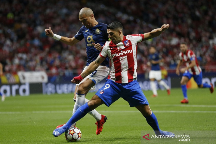 Liga Champions: Atletico dan Porto berbagi poin dalam laga kering peluang