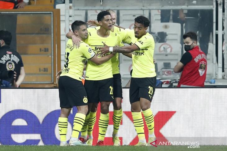 Dortmund kantungi tiga poin penuh di kandang Besiktas