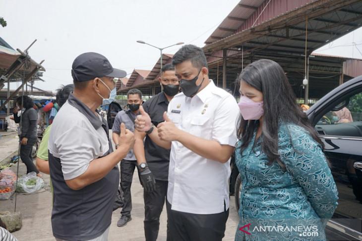Pemkot Medan jadwalkan vaksinasi pedagang di Pasar Induk Lau Cih