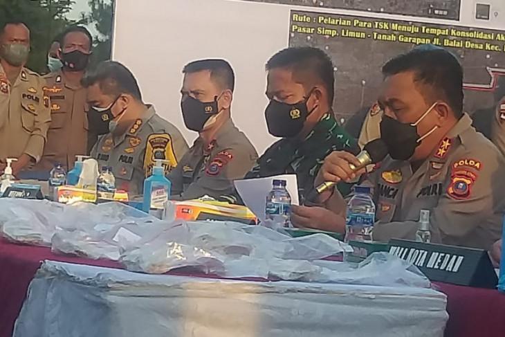 Emas yang digondol perampok di Medan ditaksir senilai Rp6 miliar