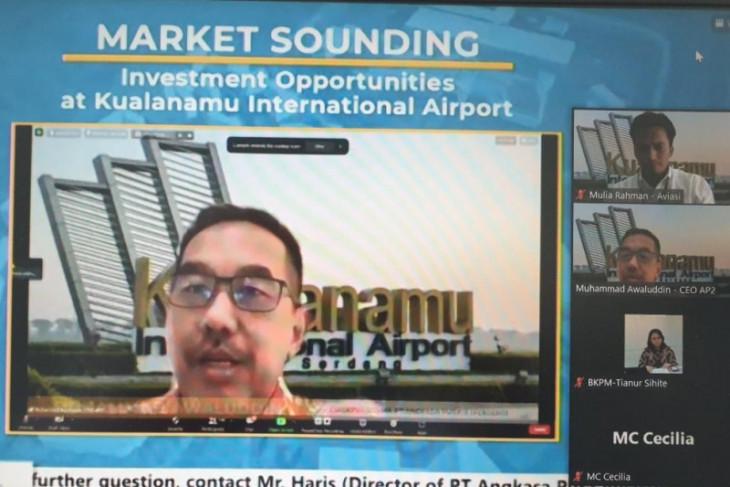 BKPM - Angkasa Pura Aviasi gelar 'Market Sounding' peluang investasi di Bandara Kualanamu