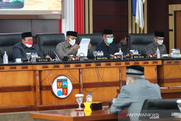 Setelah dua kali refocusing, Perubahan APBD 2021 Kota Bogor ditetapkan
