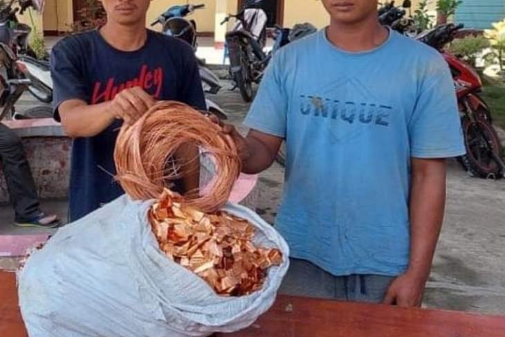 Komplotan pencuri kabel listrik diamankan Polres Simalungun
