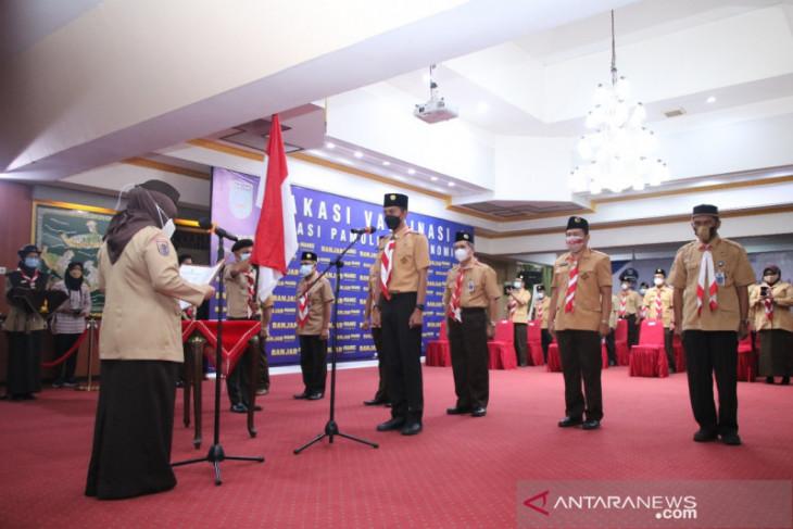 Saidi Mansyur dilantik Ketua Mabicab Pramuka Banjar