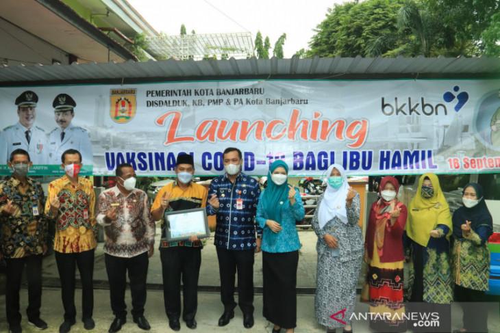 Pemkot Banjarbaru luncurkan vaksinasi ibu hamil dan keluarga