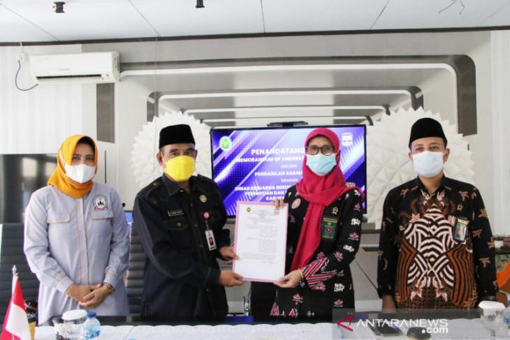 Pengadilan Agama dan DKBP3A Kabupaten Serang MoU terkait konseling perkawinan