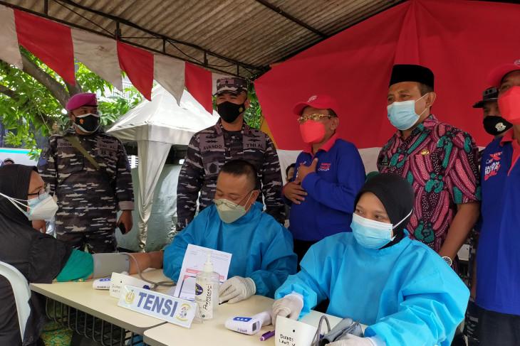 STTAL Gelar serbuan vaksin COVID-19 TNI AL, sasar masyarakat maritim Sidoarjo