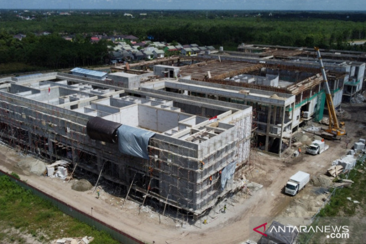 Tapin's new hospital reaches 52 percent completion