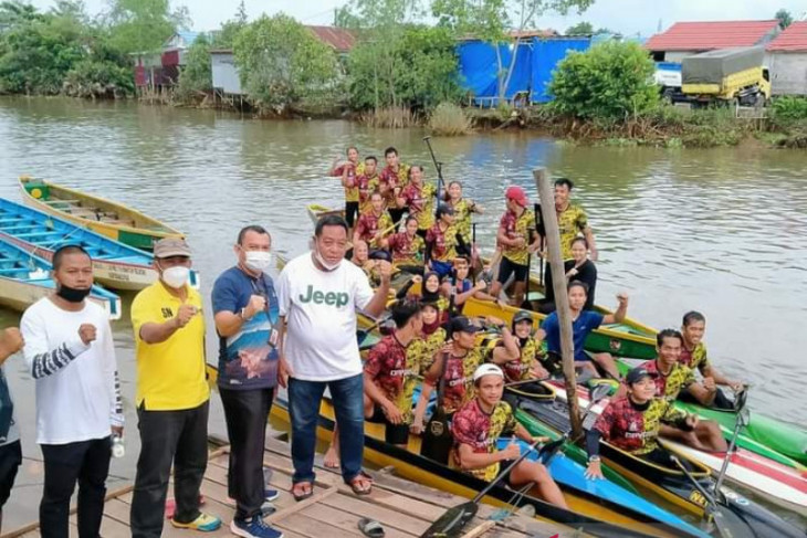 South Kalimantan's rowing potential to win first medal at Papua PON