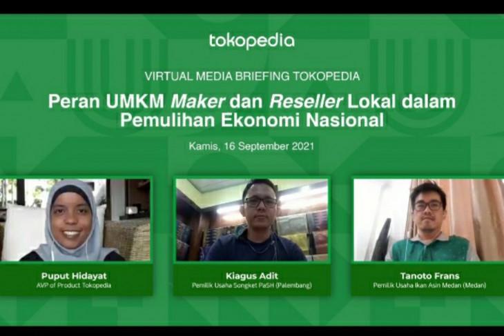 Tokopedia: UMKM maker dan reseller lokal jadi kunci pulihkan ekonomi nasional