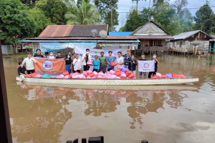 KMHDI Kalsel bantu korban banjir Kalimantan Tengah